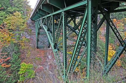 Erbaut durch die American Bridge Company of New York im Jahr 1911.