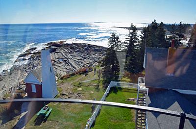... und die Küste von Maine