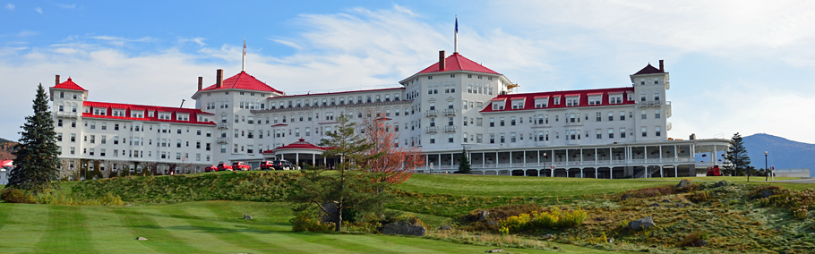 Das Mount Washington Hotel in Bretton Woods.