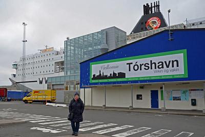 Ankunft in Tórshavn auf der Insel Streymoy.