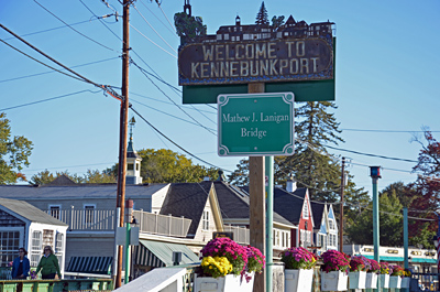 ... am Dock Square in Kennebunkport