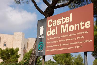 Ankunft am Castel del Monte