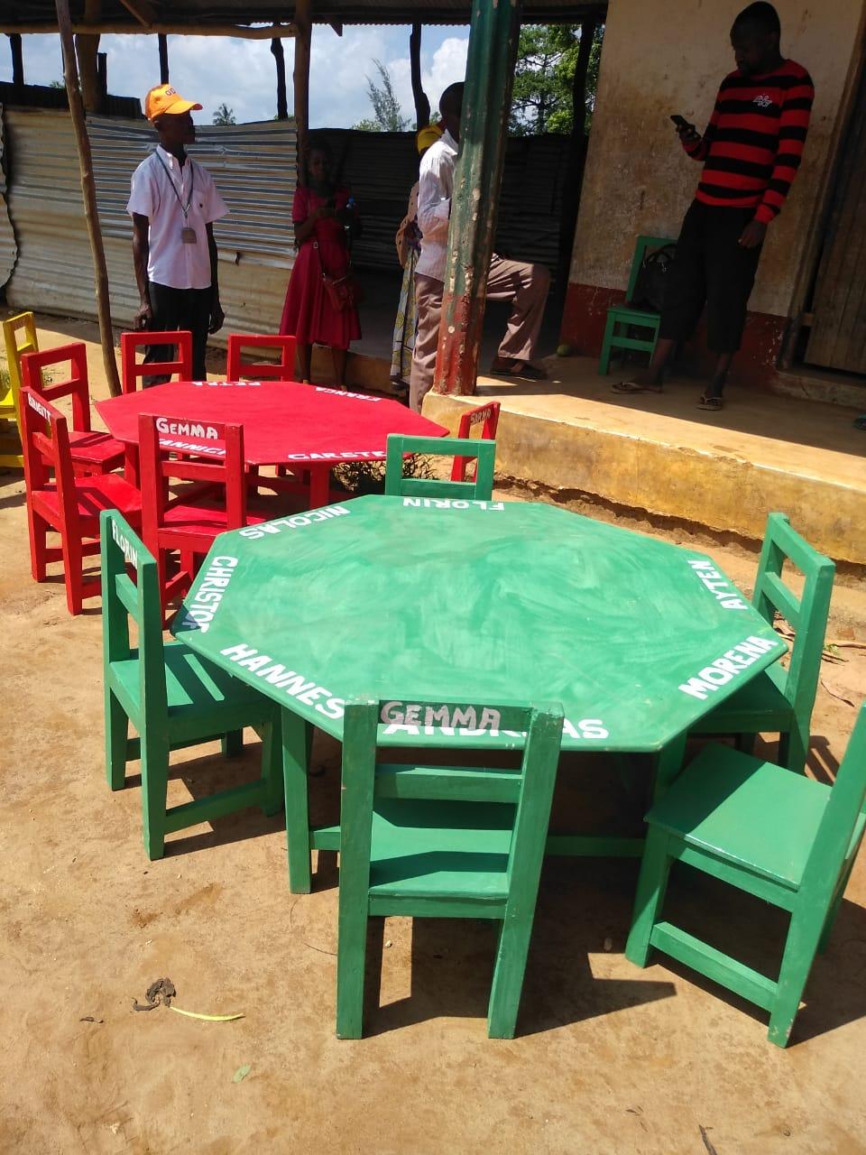 Schulinventar - handmade made in Africa