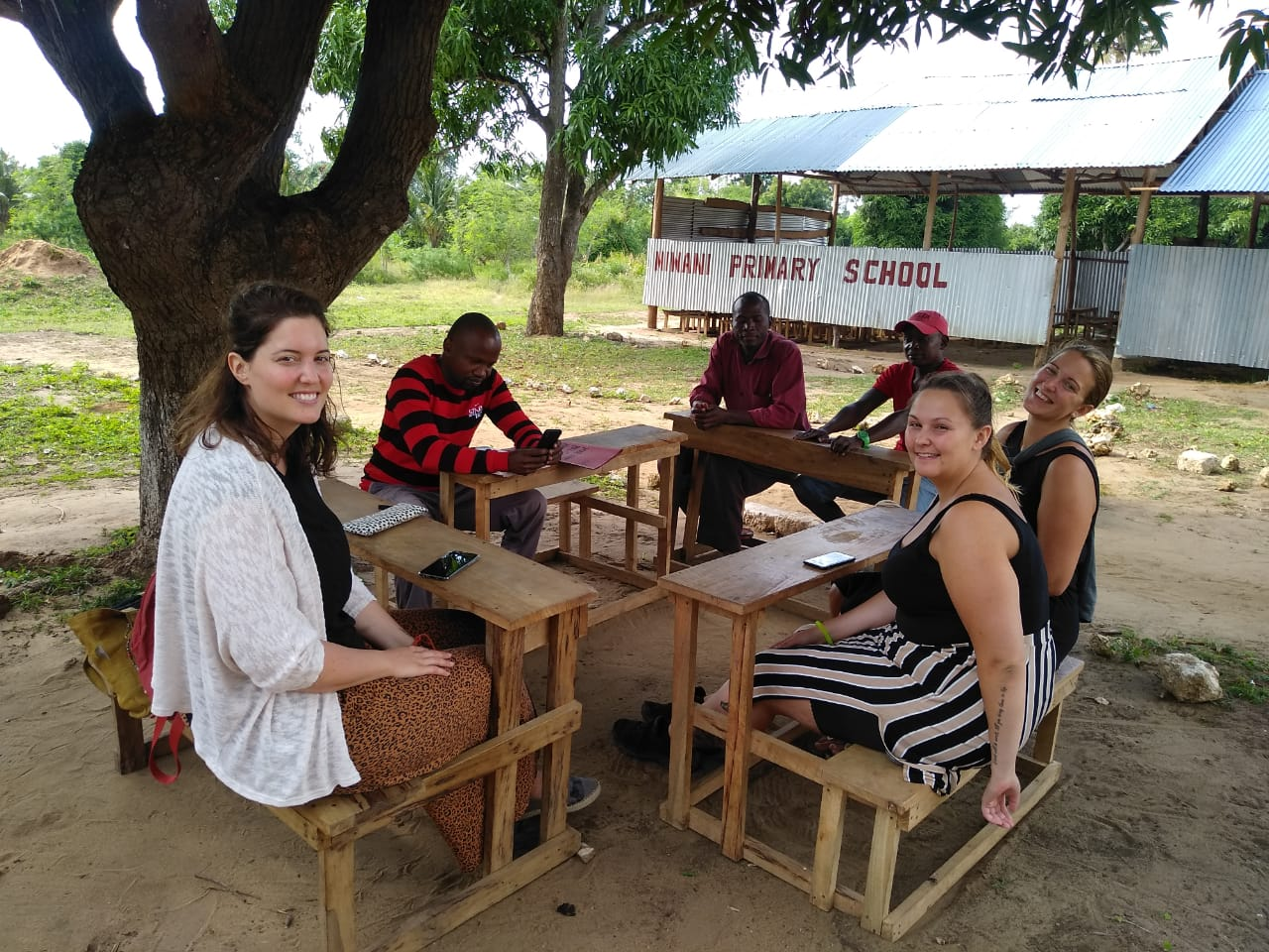 Der neue Arbeitsplatz von Nadine (Bild: waytoafrica.ch)
