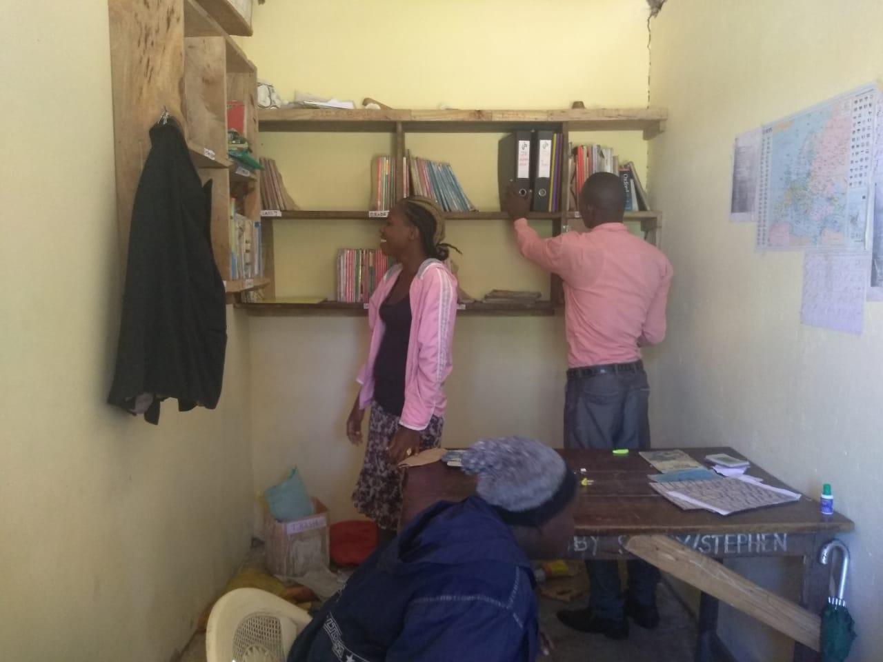 Die neuen Schulräume erlauben auch den Lehrern eine bessere Organisation