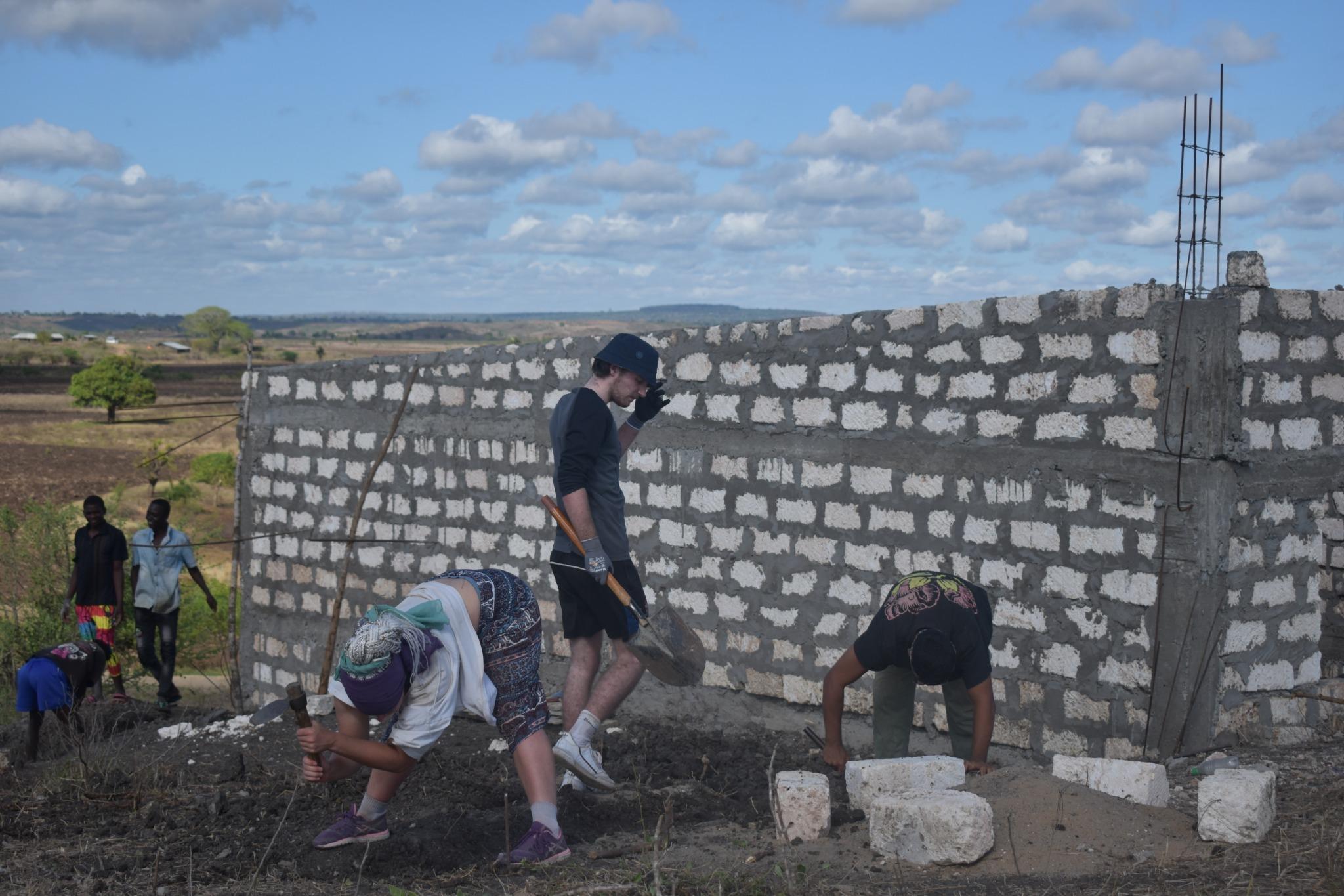 Hard work under the african sun