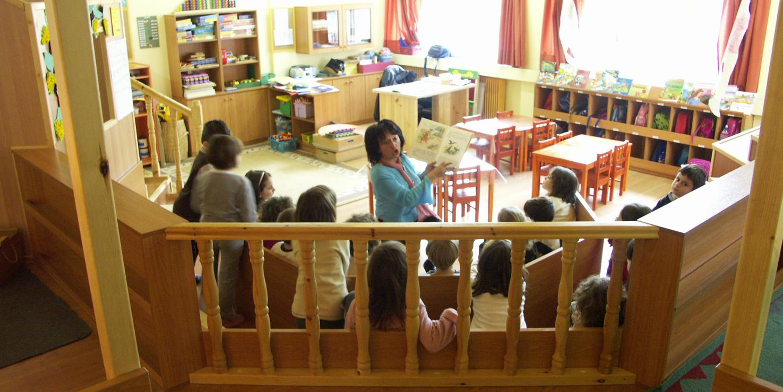 Η αίθουσα διδασκαλίας 1 μετά ...