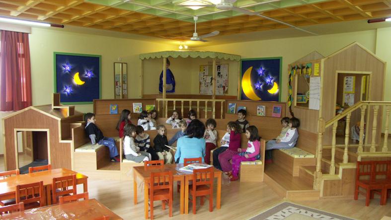 """Ecole maternelle """"Manavi"""", Thessalonique, après"""