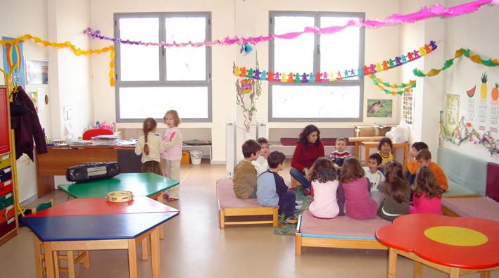 École maternelle de l'Université Aristote, avant…