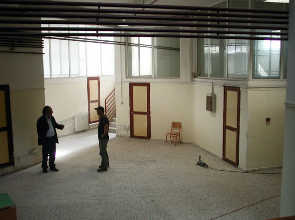 Τhe same hall, before.