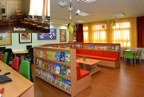 Design conçu pour le développement pédagogique et psychosocial de la classe coopérative.