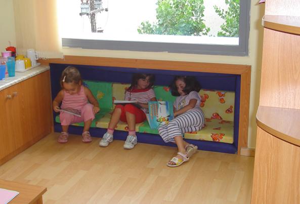 Δημιουργώντας χώρους του παιδιού στην τάξη. Παιδικό Κέντρο ΑΠΘ.
