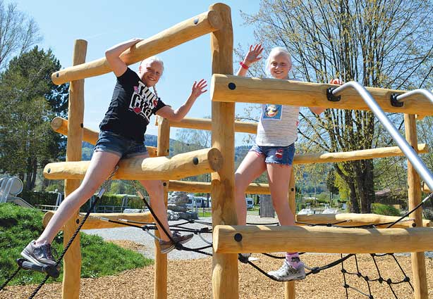 Sielplatz im KAISER CAMPING Outdoor Resort, Bad Feilnbach