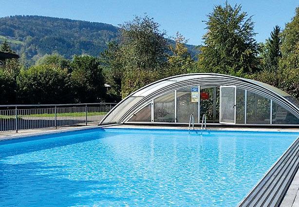 Schwimmbad Campingplatz Kaiser Camping