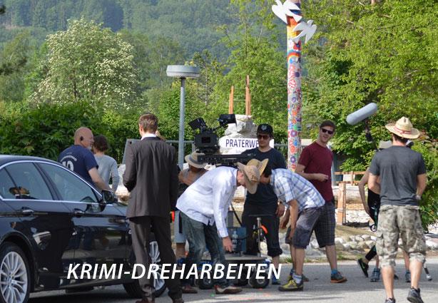 ZDF  Dreharbeiten im Campingplatz Kaiser Camping