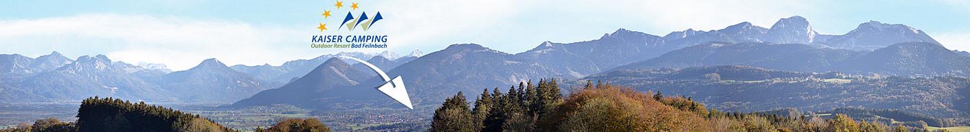 Camping in Bayern an den Alpen Campingplatz Kaiser Camping