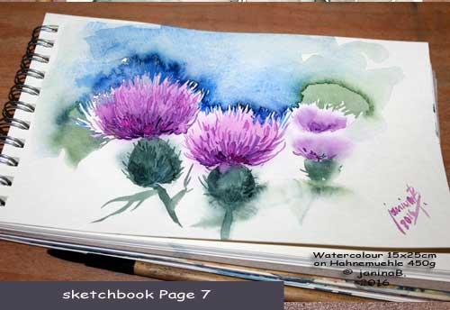 my sketchbook Page 7 / nicht verfügbar