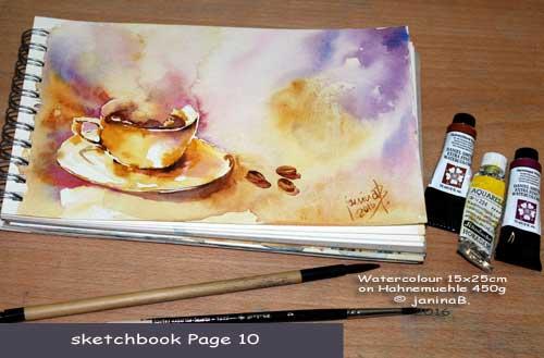 my sketchbook Page 10 / nicht verfügbar