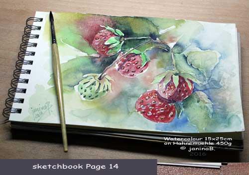my sketchbook Page 14 / nicht verfügbar