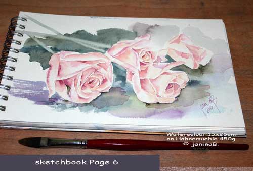 my sketchbook Page 6 / nicht verfügbar