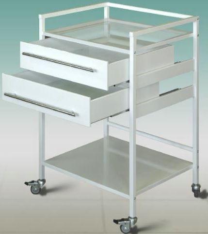 Медицинская мебель - стол для приемки инструмента с ботиками килограмм металлолома в Дрезна