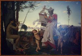 GEROME, Jean-Léon Anacréon, Bacchus et l'Amour