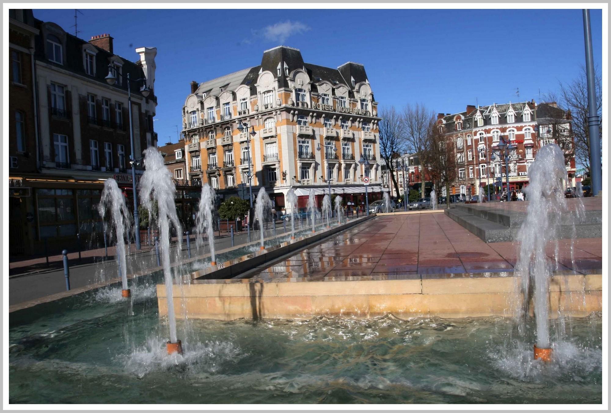 place de la gare Arras
