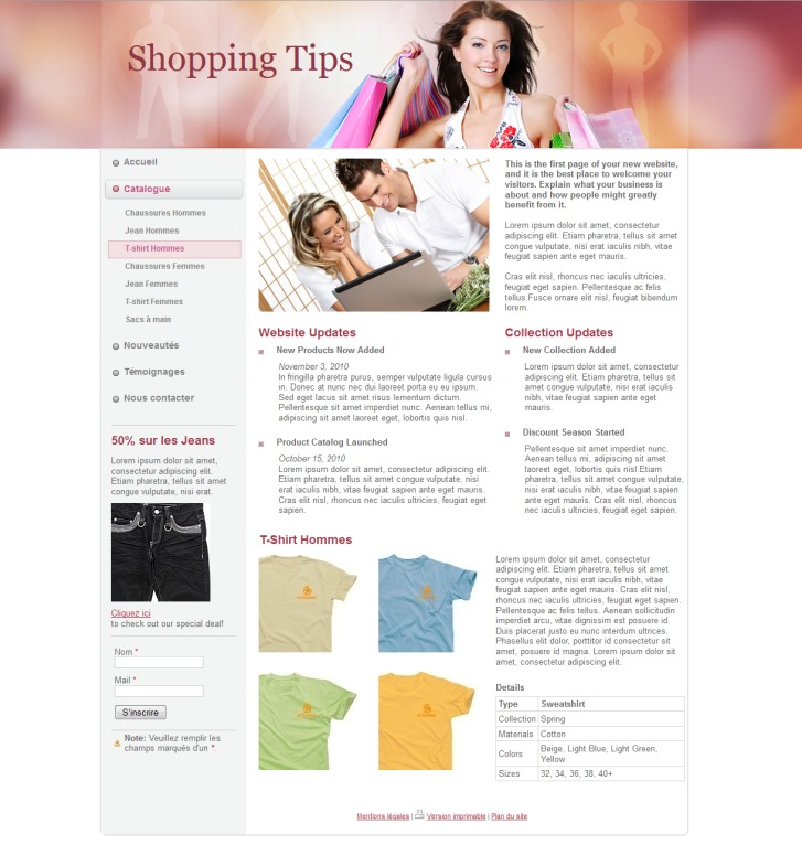 SITE INTERNET BON PLANS SHOPPING