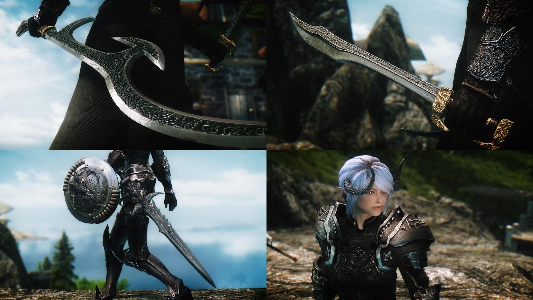 Armor, Weapon - msz-tstl