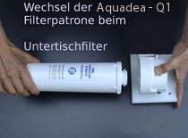 Filterwechsel wasserfilter quellfrisch