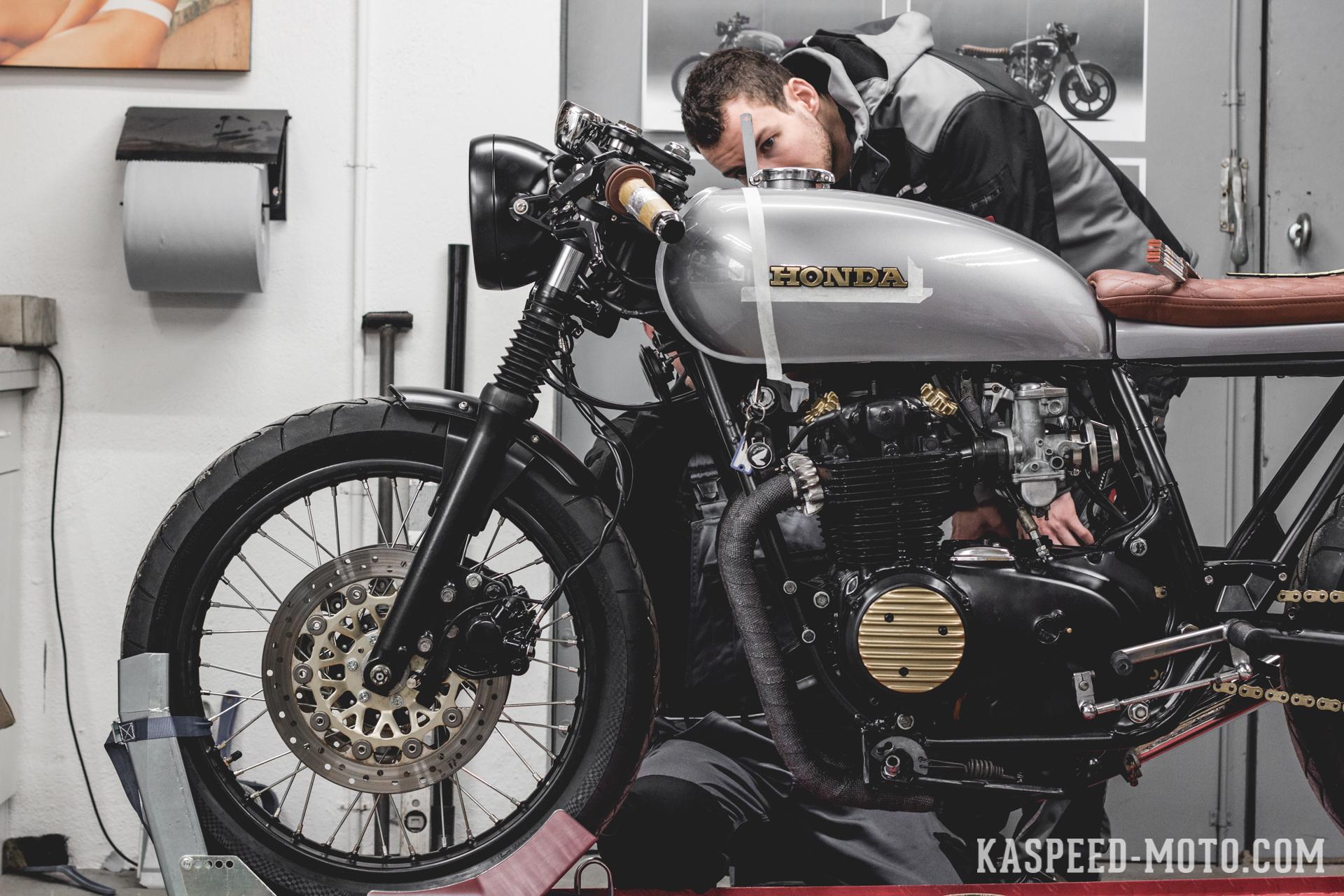 Deutsch Kaspeed Custom Motorcycles Cafe Racer Scrambler Brat