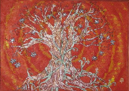 Незабудковое дерево