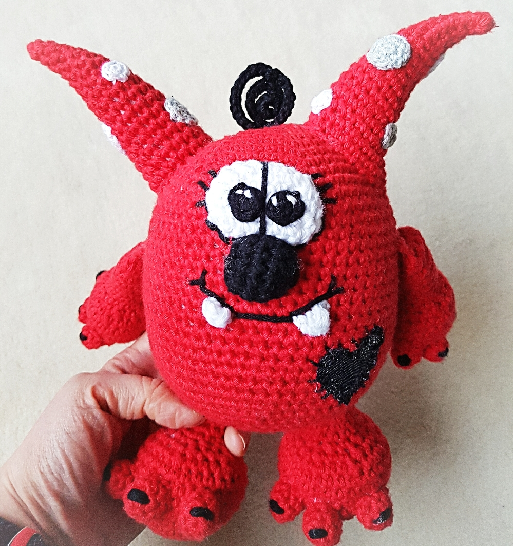 Lui♡Monster der coole Mutmacher (Monstercool) designed by Dat Yarn's