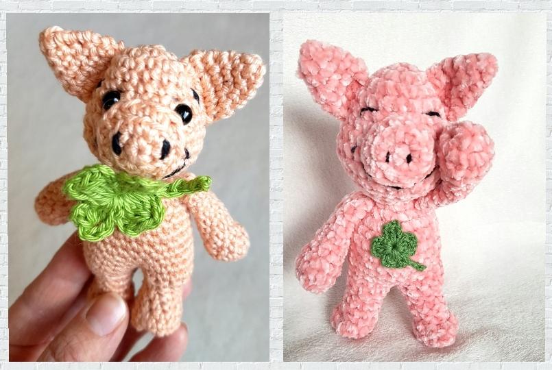 Glücksschweinchen Dat Yarn's Design