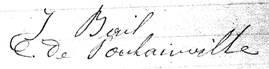 Signature de Isidore BAIL