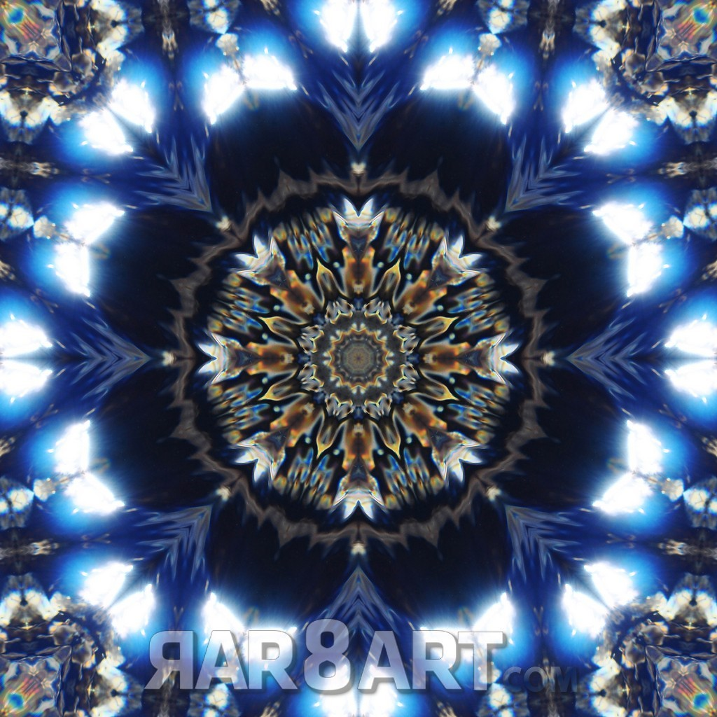 RAR8ART Mandala WH 3