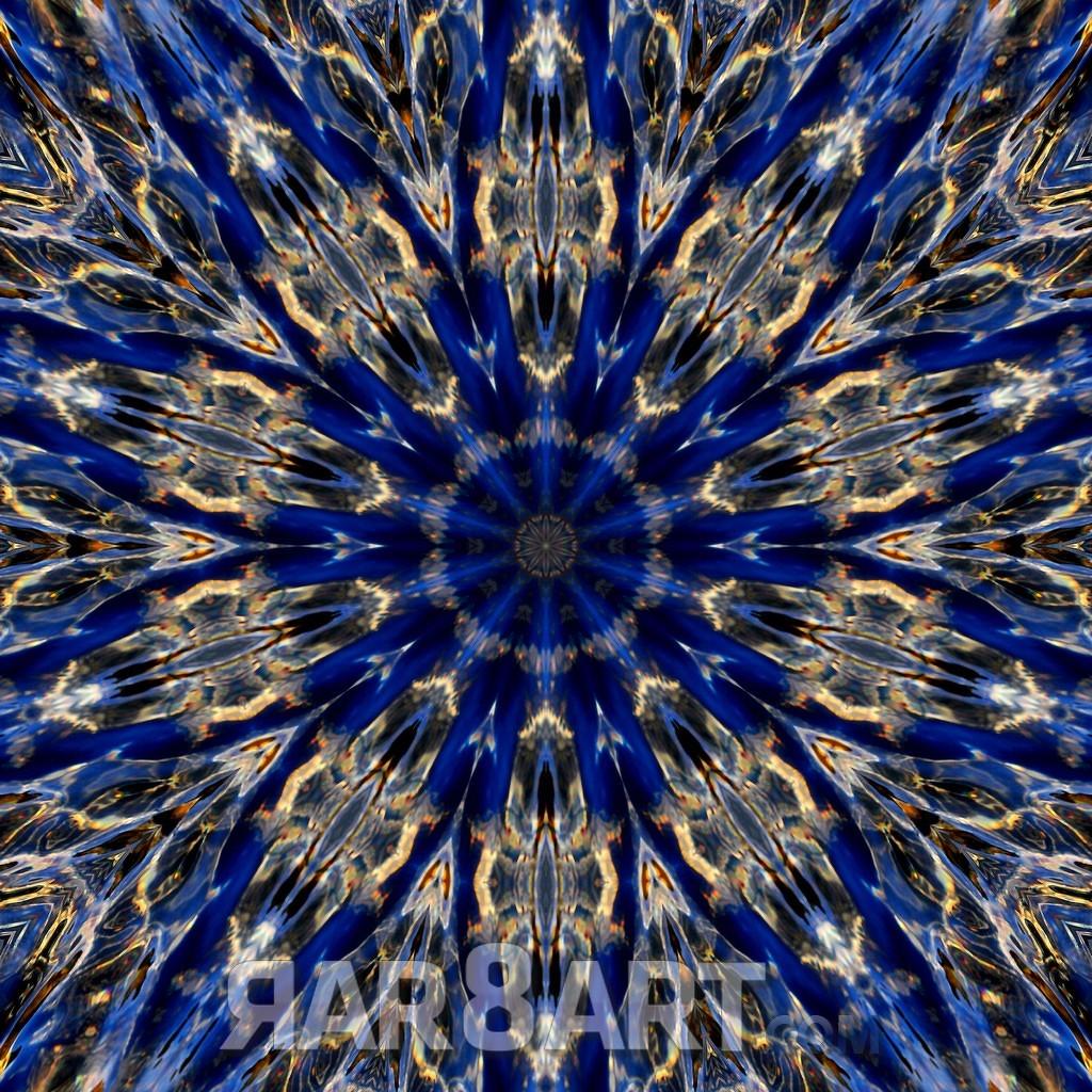 RAR8ART Mandala WH 7