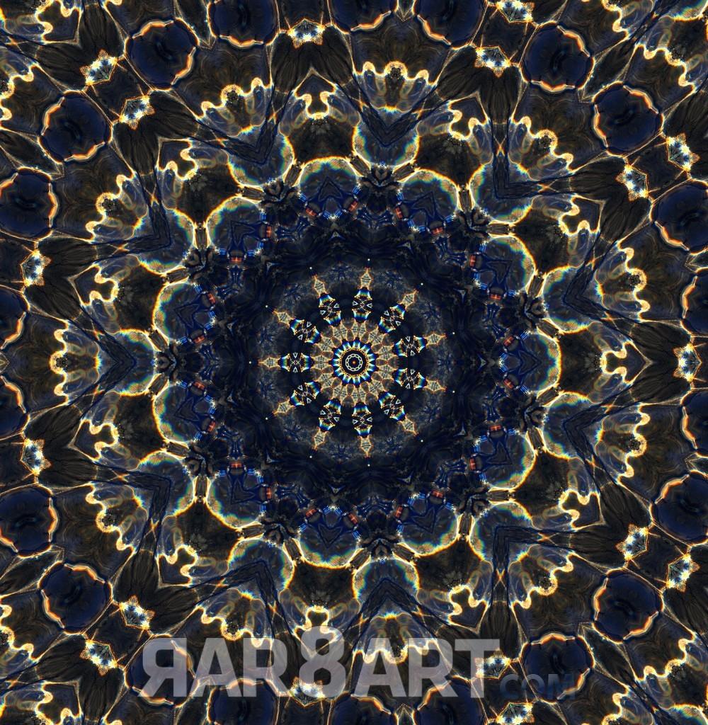 RAR8ART Mandala WH 4