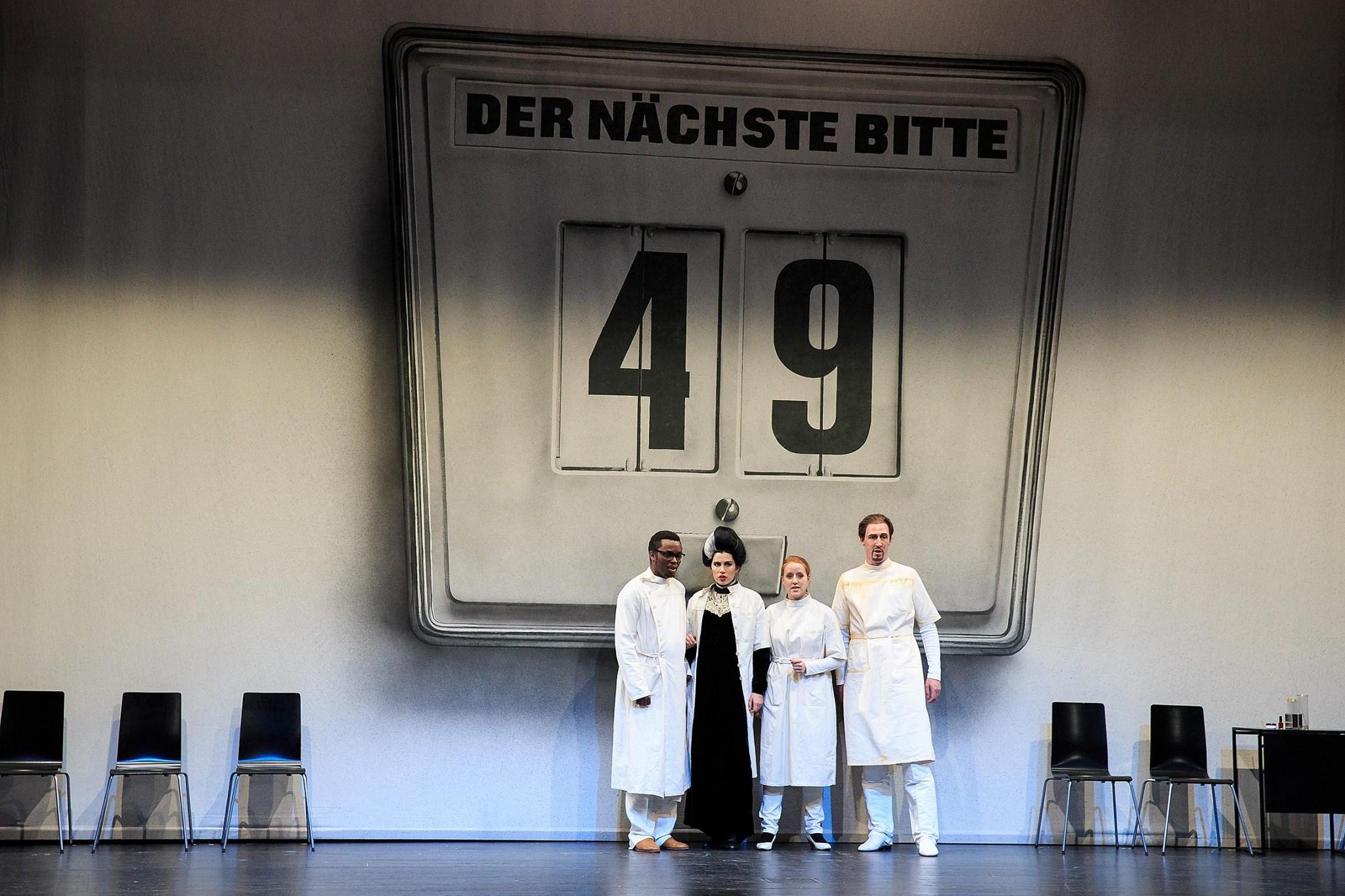 F. Poulenc - Les marmelles des Tiresias // Forum HfMT Hamburg // 2014