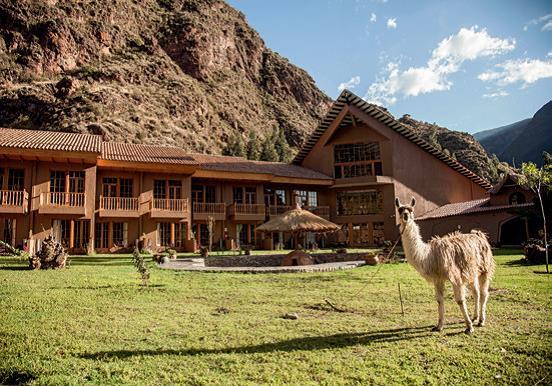 Komfortable Unterkünfte in Lodges auf dem Lares Trek in Peru