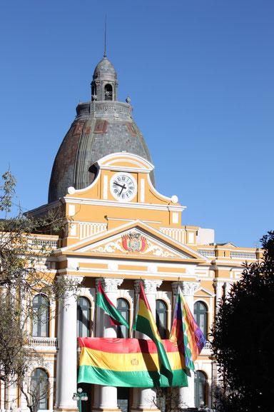 La Paz - die Plaza Murillo