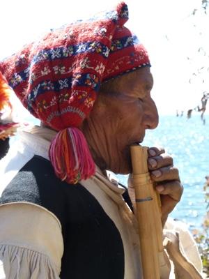Bootsausflug zu den Uros Inseln und auf die Insel Taquile - Titicacasee