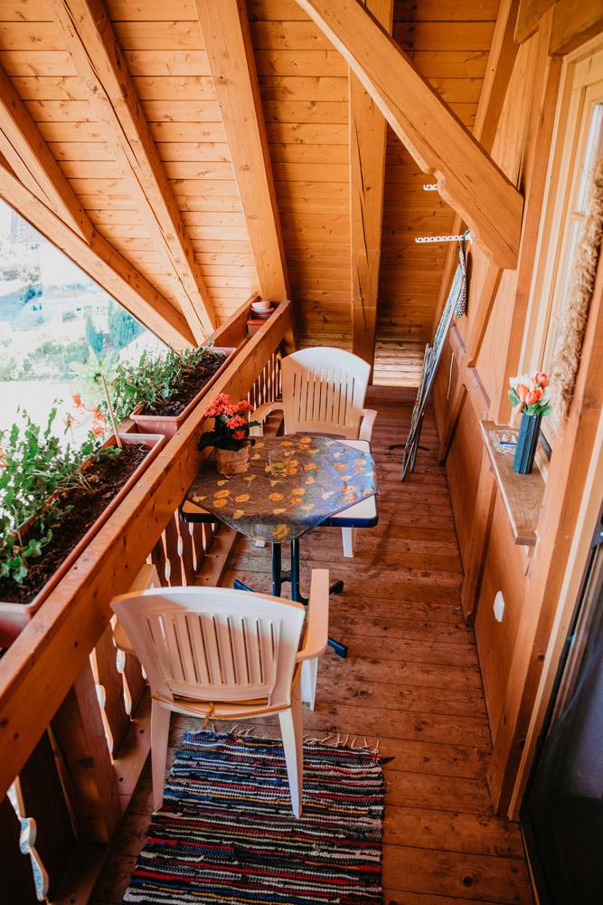 Balkon der FeWo