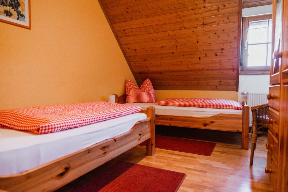 Gemütlich: Das zweite Schlafzimmer
