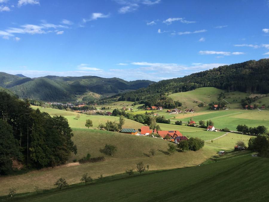 Steinach Landschaft im Schwarzwald, ideal zum Wandern