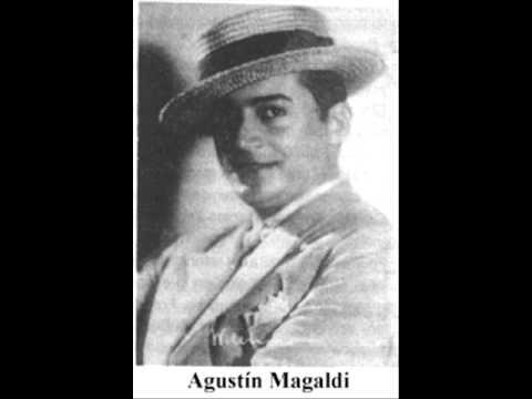 Agustín Magaldi, Cantore.