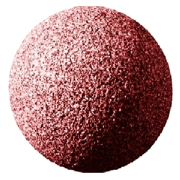 Granitkugel Rot