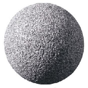 Granitkugel Grau