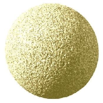 Granitkugel Gelb
