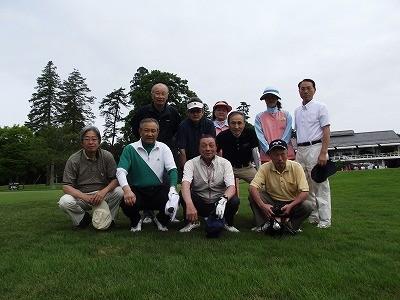 10回大会参加者 高橋町長(前列左から2番目)を囲んで